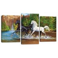 Модульные картиныМодульные картины из 3 частей 55x100 см - Модульная картина арт. МТ166