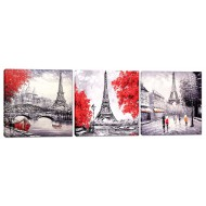 Города - Модульная картина арт.8 (40x115)