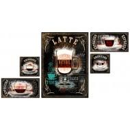 Часы-картинаЧасы-картина Натюрморты - модуль компакт арт. с02