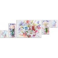 Репродукции Репродукции  Цветы - Компакт арт. с16