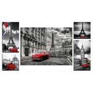 Модульные картиныМодульные картины Полиптих из 5ти частей - Полиптих 5005