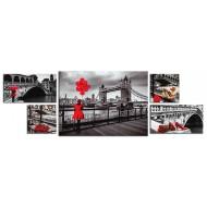 Модульные картиныМодульные картины Полиптих из 5ти частей - Полиптих 5006