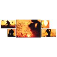 Модульные картиныМодульные картины Полиптих из 5ти частей - Полиптих 5011