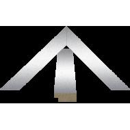 """КомплектующиеКупить раму МДФ для картин оптом - МДФ 8x20мм """"Металлик"""""""