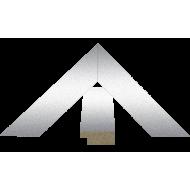 """КомплектующиеКупить раму МДФ для картин оптом - МДФ 12x28мм """"Металлик"""""""