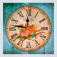 Часы-картинаЧасы-картина Часы 21x21 - Часы 21x21 F24