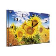 Часы-картинаЧасы-картина Часы 25х35 под стеклом - Часы - картина под стеклом №50