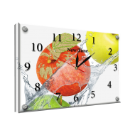 Часы-картинаЧасы-картина Часы 25х35 под стеклом - Часы - картина под стеклом №55