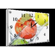 Картина-сувенир - Часы - картина под стеклом №55