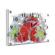 Часы-картинаЧасы-картина Часы 25х35 под стеклом - Часы - картина под стеклом №56