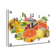 Часы-картинаЧасы-картина Часы 25х35 под стеклом - Часы - картина под стеклом №58