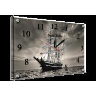 Картина-сувенир - Часы - картина под стеклом К686