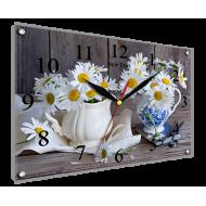 Часы-картинаЧасы-картина Часы 25х35 под стеклом - Часы - картина под стеклом К894