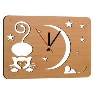 Дизайнерские часыДизайнерские часы Modern collection 25x35 - Часы 25x35 арт. 8 (бук)