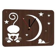 Дизайнерские часыДизайнерские часы Modern collection 25x35 - Часы 25x35 арт. 8 (венге)