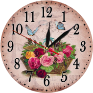 Часы-картинаЧасы-картина круглые 30 см - Часы - картина арт. 8