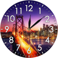 Часы-картинаЧасы-картина круглые 30 см - Часы - картина арт. а16