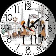 Картина-сувенир - Часы - картина арт. а41