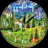 Часы-картинаЧасы-картина Круглые часы 30 - Часы - картина арт. а64