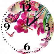 Часы-картинаЧасы-картина круглые 30 см - Часы - картина арт. а8