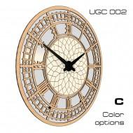 Картина-сувенир - Настенные классические часы UGC002C