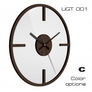 Дизайнерские часыНастенные часы Loft collection 30x30см - Настенные часы UGT001C
