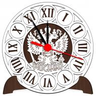 Часы-картинаЧасы-картина Сувенирные часы с российской символикой - Сувенирные часы SQ1_venge