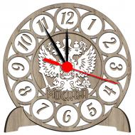 Часы-картинаЧасы-картина Сувенирные часы с российской символикой - Сувенирные часы SQ2_dub