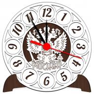 Часы-картинаЧасы-картина Сувенирные часы с российской символикой - Сувенирные часы SQ2_venge