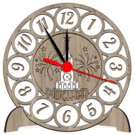 Часы-картинаСувенирные настенные часы с российской символикой - Сувенирные часы SQ4_dub