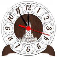 Часы-картинаСувенирные настенные часы с российской символикой - Сувенирные часы SQ4_venge