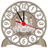 Часы-картинаСувенирные настенные часы с российской символикой - Сувенирные часы SQ6_dub