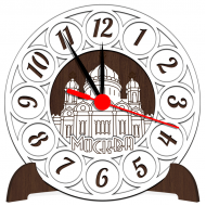 Часы-картинаСувенирные настенные часы с российской символикой - Сувенирные часы SQ6_venge