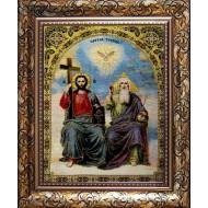 Картина-сувенир - Святая троица_25x30