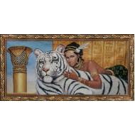 Картина-сувенир - Картина из гобелена К19_40х80