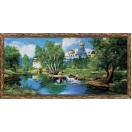 ИконыГобелен в раме - Картина из гобелена K631 60х120