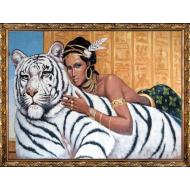 Картина-сувенир - Картина из гобелена K19_60х80