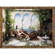 Картина-сувенир - Картина из гобелена K22_60х80