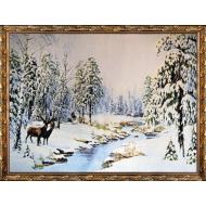 Гобелен в рамеГобелен в раме 60x80 - Картина из гобелена K321_60х80