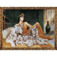 ИконыГобелен в раме - Картина из гобелена K57 60х80