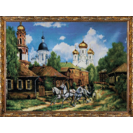 Гобелен в раме - Картина из гобелена K609 60х80