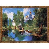 Гобелен в раме - Картина из гобелена K631 60х80
