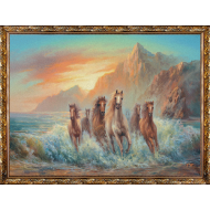 ИконыГобелен в раме - Картина из гобелена K67 60х80