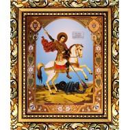 ИконыИконы 15х18 - Георгий на коне_15x18