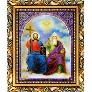 Картина-сувенир - Святая Троица_15x18