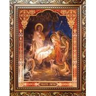 ИконыИконы 20х25 - Рождество Христово_20x25