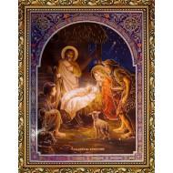 Купить иконы оптом - Рождество Христово_30x40