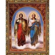 ИконыИконы 30x40 - Св. Михаил и Св. Гавриил_30x40