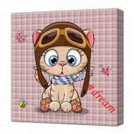Картины на холстеКартины на холсте Животные - Картина на холсте (канвас) KH82
