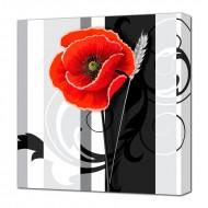 ЦветыЦветы Натюрморты - Картина на холсте (канвас) KH83